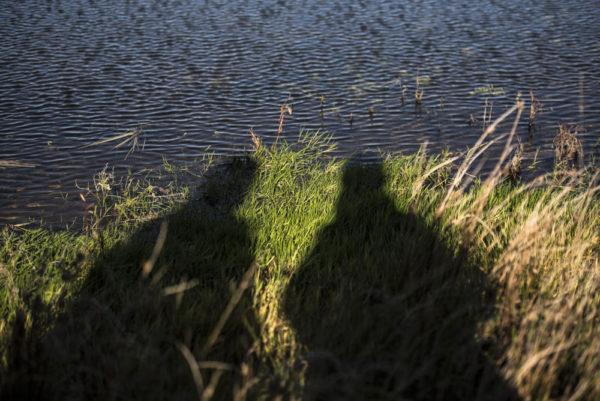 Foto: Eksponeringsøvelse i naturen. Naturbasert angstbehandling. ACT hos psykologen på landet.